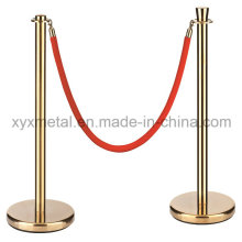 Edelstahl Display Ausstellung Barriere Seil Post