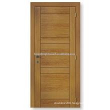Natrual veneered interior flush wooden door
