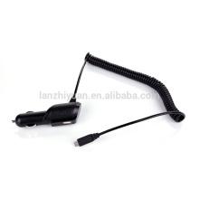 2 en 1 Cargador dual del USB del cigarrillo del coche del USB y 5V / 2.1A con el cable