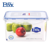 China manufacture packagings plastic boxes container with lid