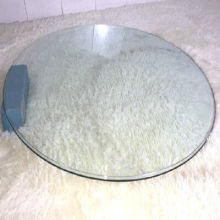 Mesa de comedor de vidrio, vidrio de seguridad en línea de vidrio templado