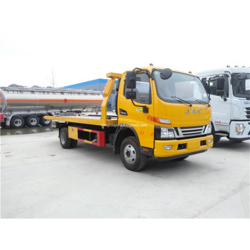 JAC 4X2 One Tow Two Road Wrecker Truck kecelakaan