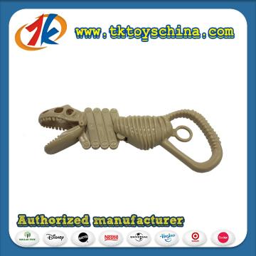 Brinquedo de brinquedo de dinossauro com brinquedo de mão plástica com alta qualidade