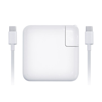 Adaptador de alimentação USB C 87W para Apple macbook