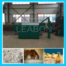 Máquina de afeitar de madera del lecho del caballo del uso de la granja 1t / H