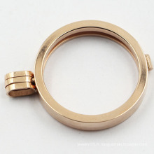 Collier pendentif en acier inoxydable 316L en chirurgie chirurgicale