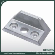 O OEM da precisão morre as peças sobresselentes de alumínio da maquinaria da carcaça / alumínio morre parte da carcaça