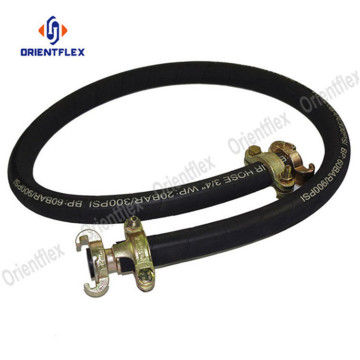 Black+oil+resistant+wrapped+air+pressure+hose