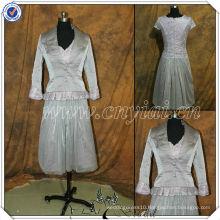 PP2730 Elegant Tea Length Two Pieces Mother Dress 2014