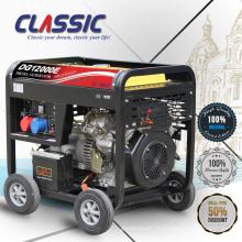 CLASSIC (CHINA) Groupe électrogène diesel à refroidissement par air 12kw, générateur diesel à panneau numérique, générateur diesel diesel chinois