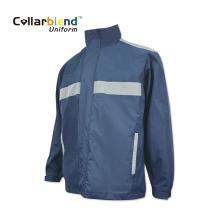 Navy Blue Customized Reflective Jacket