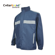 Navy Blue Customized Reflective Jacket