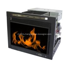 Dark Weathered Sheridan Mobile Infrared Fireplace