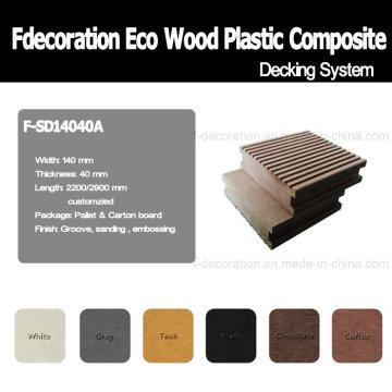 Eco Outdoor Flooring Wood Plastic Composite