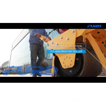 Road Roller CE Single Drum Vibratory Roller Compactor