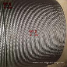 Cuerda de alambre de acero inoxidable de 4 mm