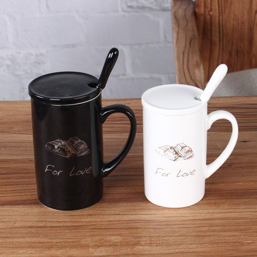 gold series couple coffee mug