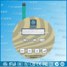 ПЭТ-плоский гибкий мембранный выключатель с металлическими куполами