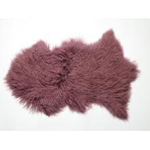Long Hair Curly Mongolian Lamb Fur Skin