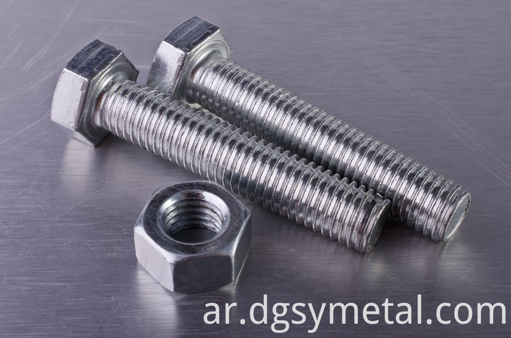 stainless hex bolts