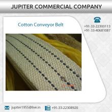 De alta resistencia mejor correa transportadora de algodón a bajo precio de mercado