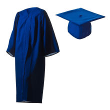 2016 Großhandelsgewohnheit Polyester-Abschluss-Kleider