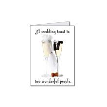 2'X 3 'Riesenhochzeitskarte und Umschlag Jäten Karte Hochzeitseinladung