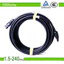 Луженый медный кабель для солнечных батарей постоянного тока Кабель для солнечных батарей 2,5 мм2