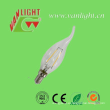 Lámpara de luz LED con filamento High Lumen E14 2W / 4W 3000k o 6500k