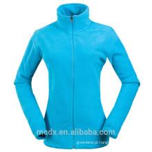 New Mens Womens Winter Soft Comfort Fleece Jacket Moda Coberturas de luz colorida Soft Comfort Fleece Jacket polar polar