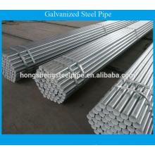 Bs1387 tubo de acero galvanizado / tubo de acero galvanizado precio