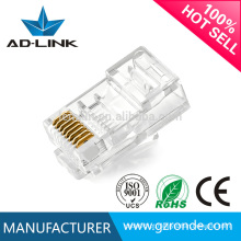 RG45 telecomunicação Boa qualidade lan cabo Modular Plug