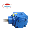 Two Outputs Big Torque 137.51N.m Cubic Bevel Gearbox