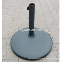 Concrete patio umbrella base