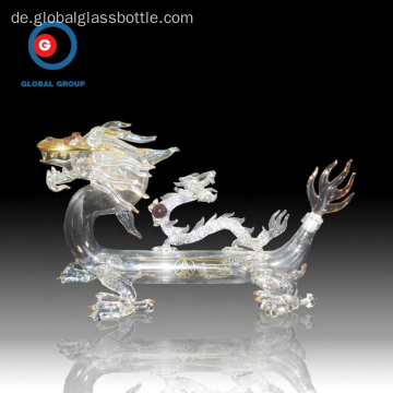 Dragon Shape Bottle Craft Weinglasflasche