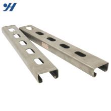 Wholesale Galvanized Jis Standard c channel standard sizes, galvanized metal channel