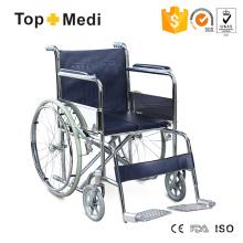 Economic Tranist Lightweighrt Steel Wheelchair