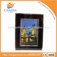 Eco Friendly Pen Shell Frame Photo with Golden Edge