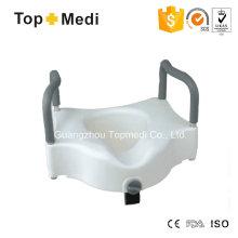 Topmedi Raised Toilet Seat with Armrest
