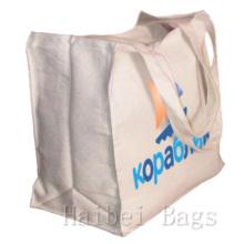 Прочный многоразовый хлопок Холст сумка (hbco-103)