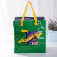2021 wholesale fashion extra large promotional laminated pp woven shopping bag