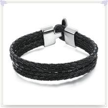 Joyería de moda cuero joyas pulsera de cuero (lb051)