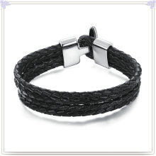 Fashion Jewelry Leather Jewelry Leather Bracelet (LB051)