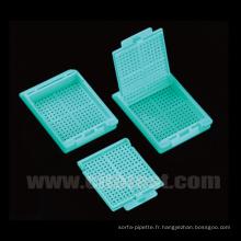 Cassettes de traitement et d'enrobage par biopsie (31050111)