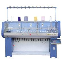 Machine à tricoter plat pour manchette