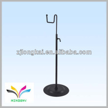 Black powder coated smart counter wire candle rack wire display stand