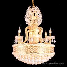 Lustre en cristal moderne éclairage 2013 conduit éclairage pendentif