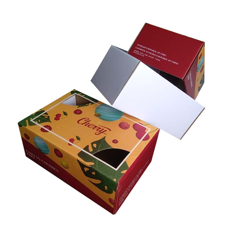 Cherry Fruit Packaging Box