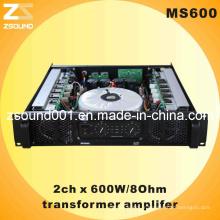 Amplificateur de puissance professionnel PA 600W