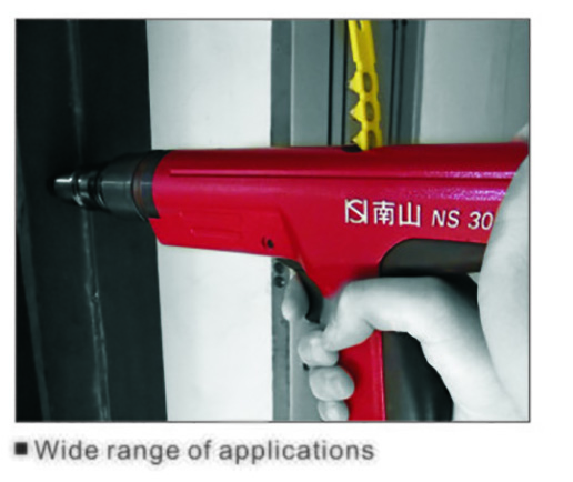 Ns301t Semi Automatic Powder Actuated Fastening Tool Direct Fastening Tool 5